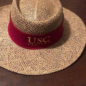🧶USC Straw Hat
